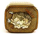 19C Japanese Mother of Pearl Shibayama Lacquer Box