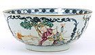 19C Chinese Export Canton Famille Rose Bowl
