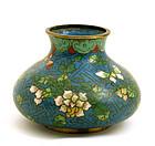 19C Chinese Cloisonne Flower Vase