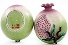 Chinese Export Famille Rose Altar Fruit Pomegranate Box