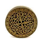 19C Persian Islamic Iran Gilt Iron Box
