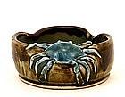 Old Japanese Sumida Gawa Crab Bowl
