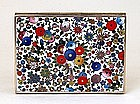 Japanese Cloisonne Mille Fleur Inaba Box