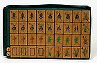 Old Bakelite Mahjong Mah Jong Jongg Set