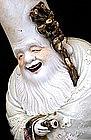 Lg Old Japanese Kutani Shoulo 7 Lucky God Figurine