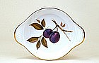 Set of 6 Royal Worcester Evesham Violet Plum Dish Mk