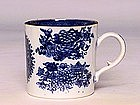 19C Chinese Export Blue & White Fitzhugh Cup