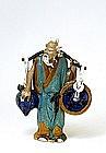 Old Chinese Export Mudman Mud Man Men
