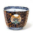 Old Japanese Imari Cup Cobalt Blue