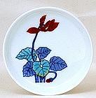 5 Japanese Nabeshima Imari Imaemon Studio Dish w Box