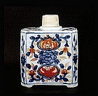 Old Chinese Export Imari Style Tea Caddy