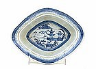 Chinese Export Blue & White Canton Bowl