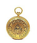 Antique Elgin Solid 18K Gold Pocket Watch
