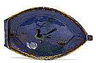 Meiji Japanese Koransha Fukagawa Boat Plate Platter