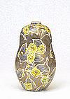 Old Japanese Studio Genroku Flower Vase Sg