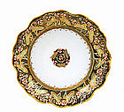 Old Japanese Nippon Flower Plate Sg