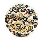Meiji Japanese Gosu Satsuma Fu Foo Dog Lion Box