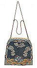 Chinese Embroidery Badge Purse Pouch Tassel