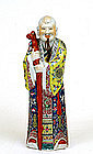 Old Chinese Famille Rose porcelain Figure Mk