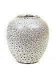 Japanese Studio Ceramic Pottery Vase Sg