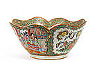 Old Chinese Export Rose Medallion Bowl