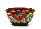 Old Japanese Pottery Ceramic Tea Bowl Chawan