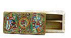 19C Chinese Export Rose Medallion Writing Box Celadon