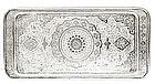 Old Persian Iran Islamic Silver Tray Platter