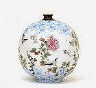 Old Japanese Imari Kutani Yokohama Vase Sg