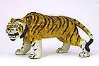 Old Japanese Kutani Tiger Okimono Marked