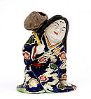 Japanese Kutani Geisha Figurine Figure Erotic