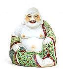 Chinese Famille Rose Buddha Quan Yin Figure
