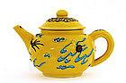 Old Japanese Eiraku Style Studio Dragon Teapot