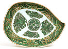 Old Chinese Export Famille Rose FitzHugh Plate Mk