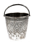 Old Persian Iran Islamic Silver Bucket MK