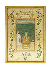 19C Persian Islamic Painting Figurine