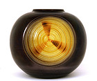 Japanese Contemporary Kutani Studio Jar Vase Sg
