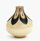 Old Japanese Satsuma Small Vase
