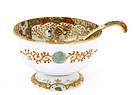 Meiji Japanese Nippon Bowl & Spoon w Child Sg
