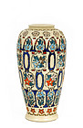 Japanese Export American Satsuma Vase Flower Deco