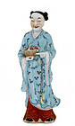 Chinese Famille Rose 8 Immortal Figurine