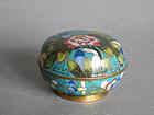 19th Century Cloisonne Enamel Box - Guangxu 1875-1908