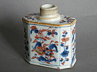 Early 18C Chinese Imari Export Tea Cannister c1723-1735