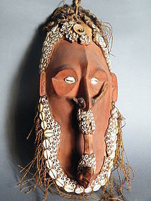 Sepik River Mask from Papua New Guinea circa 1920-1970