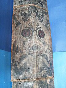 "Large Dayak ""Headhunter's"" War Shield from Borneo, circa 1850 - 1920"