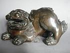 Fine Large Chinese Bronze Lion Censer, Ming Dynasty (1368-1644)