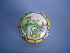 18C Chinese Canton Enamel Box Qianlong Mark and Period