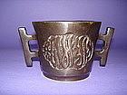 Chinese Bronze Censer  Arabic Inscription  Xuande mark