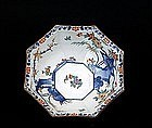 Japanese Kakiemon Kutani Hexagon Phoenix Bowl