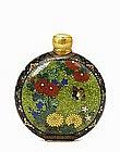 19C Japanese Namikawa Cloisonne Perfume Bottle